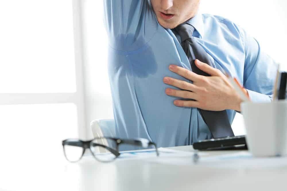 sudoracion en las axilas - Derma Visión